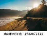 Sunrise In The Caribbean Beach...