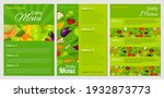 vibrant vegan special menu... | Shutterstock .eps vector #1932873773