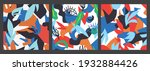 seamless pattern of a colorful... | Shutterstock .eps vector #1932884426