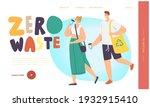 bio degradable package  zero... | Shutterstock .eps vector #1932915410