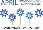 child abuse prevention and...   Shutterstock .eps vector #1932920306