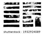 st of grunge backgrounds. brush ... | Shutterstock .eps vector #1932924089