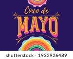 cinco de mayo   may 5  federal... | Shutterstock .eps vector #1932926489