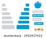 message bubbles. sms messages... | Shutterstock .eps vector #1932927413