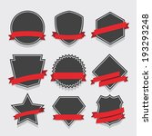 set of badge and labels. | Shutterstock .eps vector #193293248