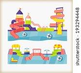 water park | Shutterstock .eps vector #193294448