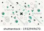 colorful geometric background.... | Shutterstock .eps vector #1932949670