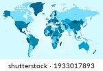 world map color vector modern....   Shutterstock .eps vector #1933017893