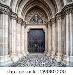 Entrance To The Matthias Churc...