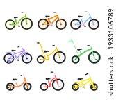 bike kids icon set. different... | Shutterstock .eps vector #1933106789