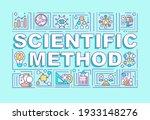 scientific method word concepts ...