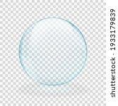 Blue Translucent Light Sphere...