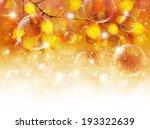 maple foliage landscape | Shutterstock .eps vector #193322639