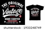 the original vintage typography ... | Shutterstock .eps vector #1933248749