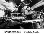 at a concert musician playing... | Shutterstock . vector #193325633
