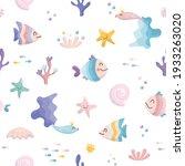 Cute Sea Fish Characters...