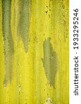 Yellow And Green Painted Metal...