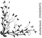 vintage floral ornament  hand...   Shutterstock .eps vector #1933305473