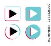 play push vector button set | Shutterstock .eps vector #1933326020