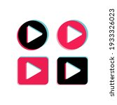play push vector button set | Shutterstock .eps vector #1933326023