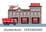 Fire Station Building Exterior...