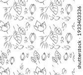 cute  elegant floral pattern in ... | Shutterstock .eps vector #1933403336