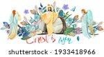 Easter Christian Illustration  ...