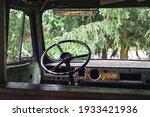 Steering Wheel In An Old...