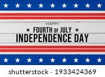 usa independence day banner... | Shutterstock . vector #1933424369