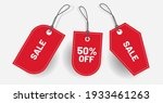 label discount price tag  red... | Shutterstock .eps vector #1933461263