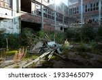 Abandoned Factory Interior And...