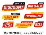 big sale special discount offer ... | Shutterstock .eps vector #1933530293