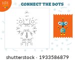 connect the dots kids mini game ...   Shutterstock .eps vector #1933586879
