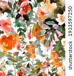 botanical seamless pattern....   Shutterstock . vector #1933597250