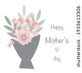 illustration of bouquet of... | Shutterstock .eps vector #1933613306