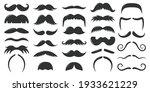 moustaches symbols. vintage...   Shutterstock .eps vector #1933621229