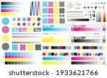 printing cmyk marks. offset... | Shutterstock .eps vector #1933621766