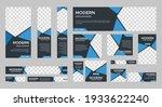 set of modern web banners of... | Shutterstock .eps vector #1933622240