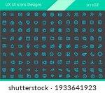 ux ui icons designs   sky blue...