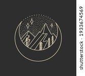vector illustration set of moon ... | Shutterstock .eps vector #1933674569