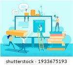 cybersants and digital... | Shutterstock .eps vector #1933675193