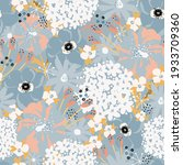 Abstract Florals Seamless...