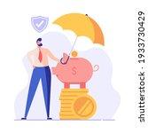 financial insurance. people... | Shutterstock .eps vector #1933730429