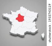 centre val de loire region... | Shutterstock .eps vector #1933743119