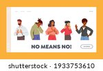 no means no landing page... | Shutterstock .eps vector #1933753610