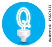 energy saving idea vector.... | Shutterstock .eps vector #193376558