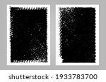 automobile tire track vector... | Shutterstock .eps vector #1933783700