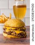 Homemade Cheeseburgers And...
