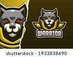 wild cat dog warrior e sport... | Shutterstock .eps vector #1933838690