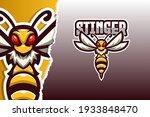 stinger e sport game logo... | Shutterstock .eps vector #1933848470
